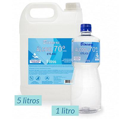 Álcool Líquido 70% Etílico